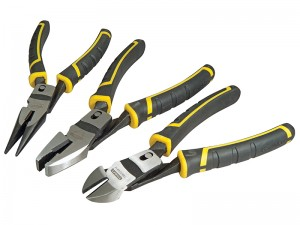 Stanley FatMax Compound Action Long Nose Pliers Set 3-Piece