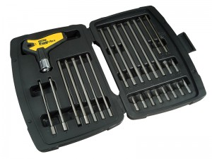 Stanley FatMax T-Handle Ratchet Power Key Set 27-Piece