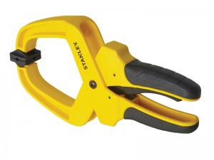 Stanley Soft Grip Hand Clamp (50mm or 100mm)