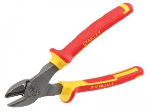 Stanley FatMax Heavy-Duty VDE Electricians Diagonal Cutting Pliers (Various Sizes)