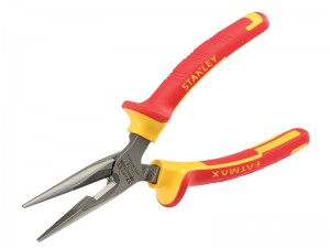 Stanley FatMax VDE Electricians Long Nose Pliers (Various Sizes)