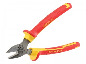 Stanley FatMax VDE Electricians Side Cutting Pliers 165mm