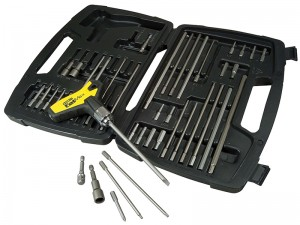 Stanley FatMax T-Handle Ratchet Power Key Set 43-Piece