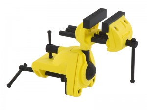Stanley Max Multi-Angle Heavy Duty Hobby Bench Vice 75mm