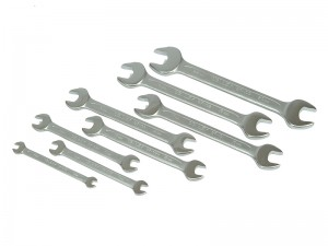 Stanley Metric Open End Spanner Set 8-Piece