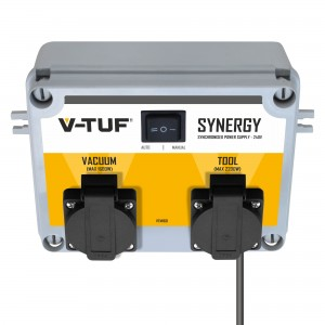 V-Tuf SYNERGY Powertool and Vacuum Synchroniser Power Supply Unit (110v or 240v)