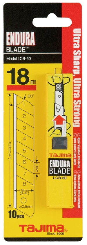 Tajima Endura Blade Dispenser 18mm Pack of 10