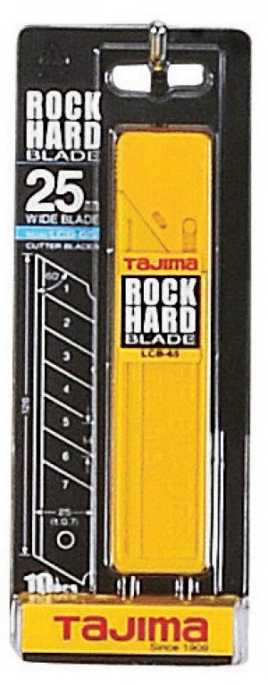 Tajima Rock Hard Blade Dispenser 25mm Pack of 10