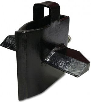 Handy Vertical 4-Way Log Splitting Wedge