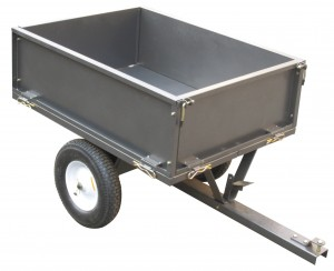 Handy GT500 Towed Garden Trailer 225kg Capacity