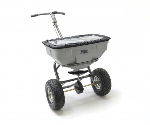 Handy S125HDUTY Easy Build Garden & Salt Spreader 57kg Capacity