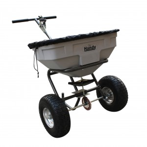 Handy S125 Garden & Salt Broadcast Spreader 57kg Capacity