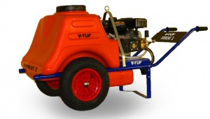 V-Tuf TORRENT2 Industrial Petrol Barrow Bowser Pressure Washer 190Bar