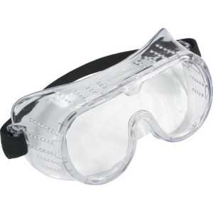 Toolpak Safety Goggles Clear Polycarbonate Lens
