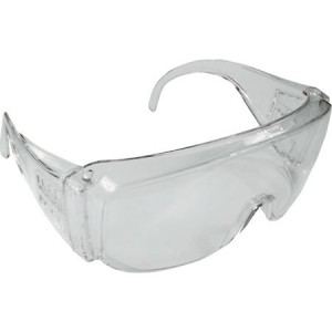 Toolpak Clear Safety Over Specs/Glasses