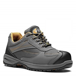 V12 Turbo Safety Work Trainer Shoes Grey (Sizes 6-13)