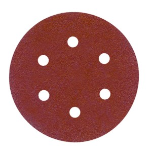 Toolpak 6 Hole Sanding Discs 150mm Pack Of 10 (Various Grits)