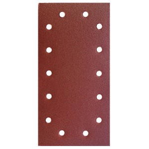 Toolpak 14 Hole Sanding Sheets 115mm x 230mm Pack Of 10 (Various Grits)