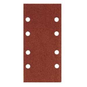 Toolpak 8 Hole Sanding Sheets 93mm x 190mm Pack Of 10 (Various Grits)