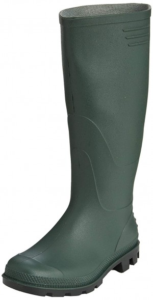 V12 Vital Value Wellington Boots Green (Sizes 3-13)