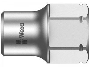 Wera 8790 FA Zyklop Shallow Socket 1/4in Drive (4mm-13mm)