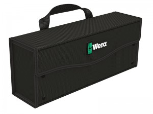 Wera 2go 3 Black Protection Bag Style Tool Box