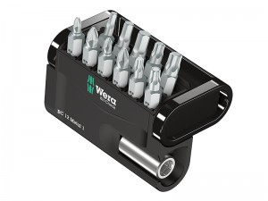 Wera Bit-Check Metal Bits Set 12-Piece