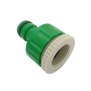 Toolpak Water Hose Pipe Tap Connector 1/2 or 3/4in