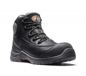 V12 Intrepid Womens Safety Work Boots Black (Sizes 2-8)
