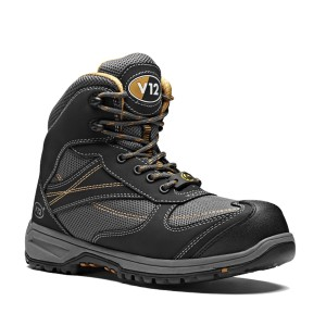 V12 Torque Womens Safety Work Boots Black (Sizes 2-8)