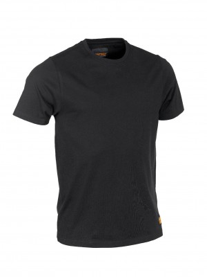 Worktough Plain Cotton T-Shirt Black (Sizes S-XXXL)