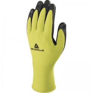 Delta Plus APOLONIT VV734 Safety Gloves Yellow (Various Sizes) Polyamide/Spandex