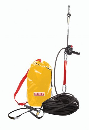 Zero Empire Controlled Descent Device, Rope & Anchor Safety Rescue Kit