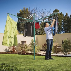 Hills Rotary Folding 6 Washing Line Clothesline (Green or Blue)