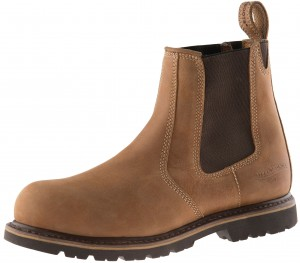 Buckler B1151SM Buckflex Safety Dealer Work Boots Autumn Oak Leather (Sizes 6-13)