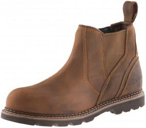 Buckler B1555SM Safety Dealer Work Boots Waxed Brown (Sizes 6-13)