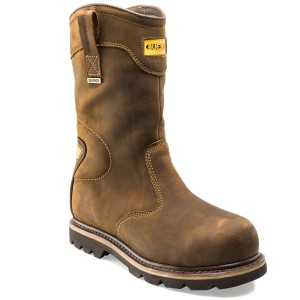 Buckler B701SMWP Waterproof Safety Rigger Work Boots Dark Brown (Sizes 6-13)