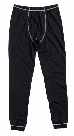 JCB Base Layer Thermal Bottoms Black (Sizes M-XL)