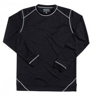 JCB Base Layer Thermal Long Sleeved Top Black (Sizes M-XL)