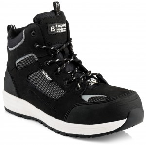 Buckler BAZ Safety Work Trainer Boots Black (Sizes 6-13)