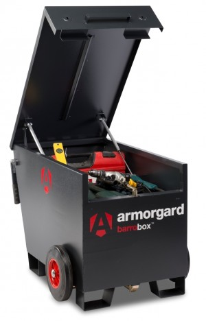 Armorgard BB2 Barrobox Mobile Site Security Vault Box Store Safe 740x1095x720mm