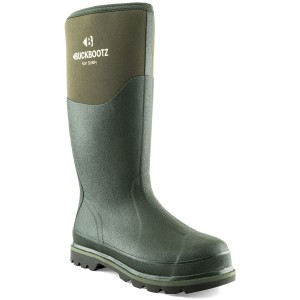 Buckler BBZ5020 Non-Safety Waterproof Rubber Wellington Boots Green (Sizes 5-13)