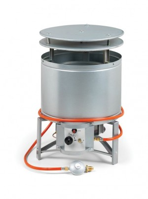 Elite BH25 Industrial Propane Gas Dust Bin Space Heater 84,000Btu