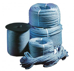 Blue Polypropylene Lorry Rope 10mm x 27mtr