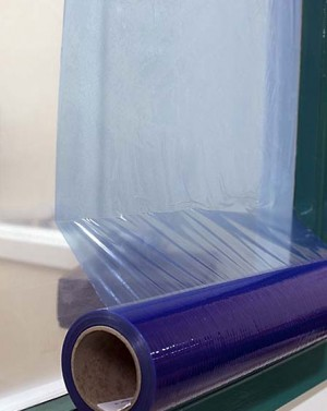 Blue Tint Window Protection Film 500mm x 100mtr