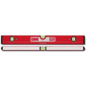 BMI Robust 4-Chamber Box Spirit Level Anti-Torsion (Various Sizes)