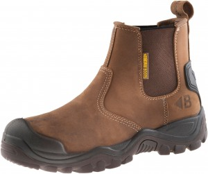 Buckler BSH006BR Safety Dealer Work Boots Brown (Sizes 6-12)