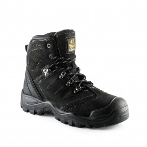 Buckler BSH0007BK Anti-Scuff Safety Work Boots Black (Sizes 6-13)