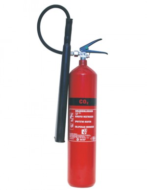 Carbon Dioxide (CO2) Fire Extinguisher - Class B Fires (Various Sizes)