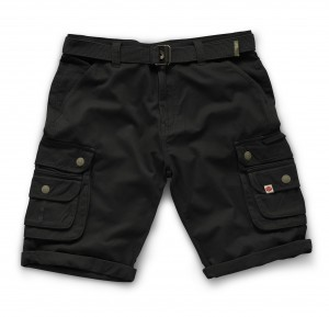 Scruffs Vintage Cargo Cotton Trade Work Shorts Black (Various Sizes)